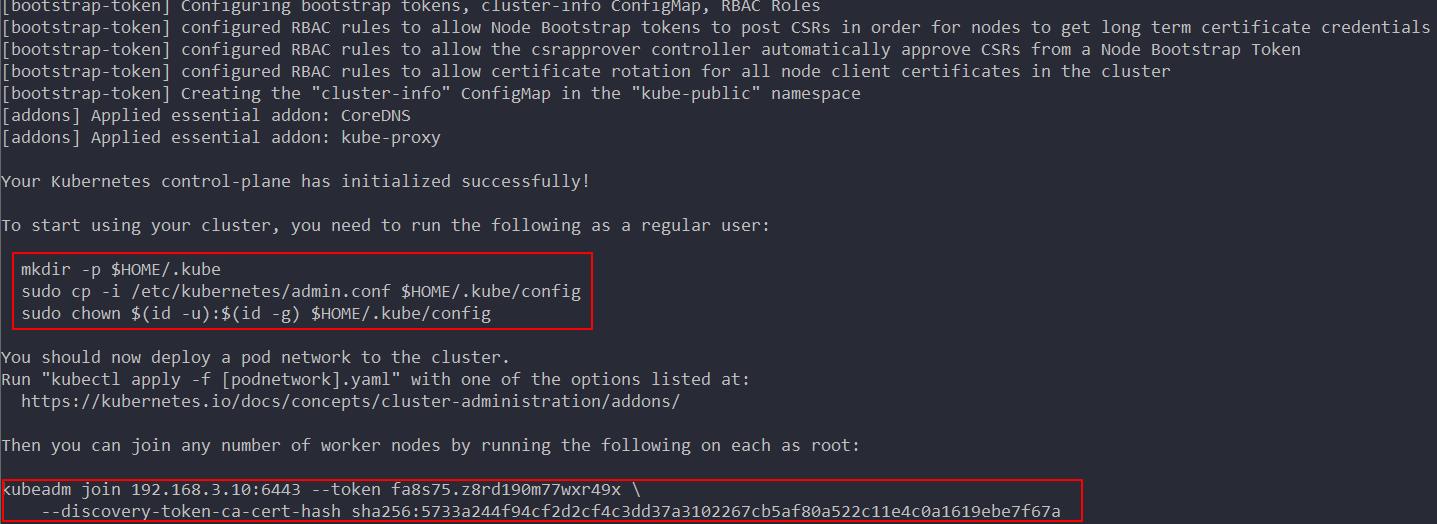 kubeadm deployment kubernetes (version 1 15 2) - - take you