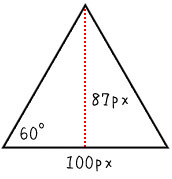 Regular polygon transformation of a single div (pure CSS)
