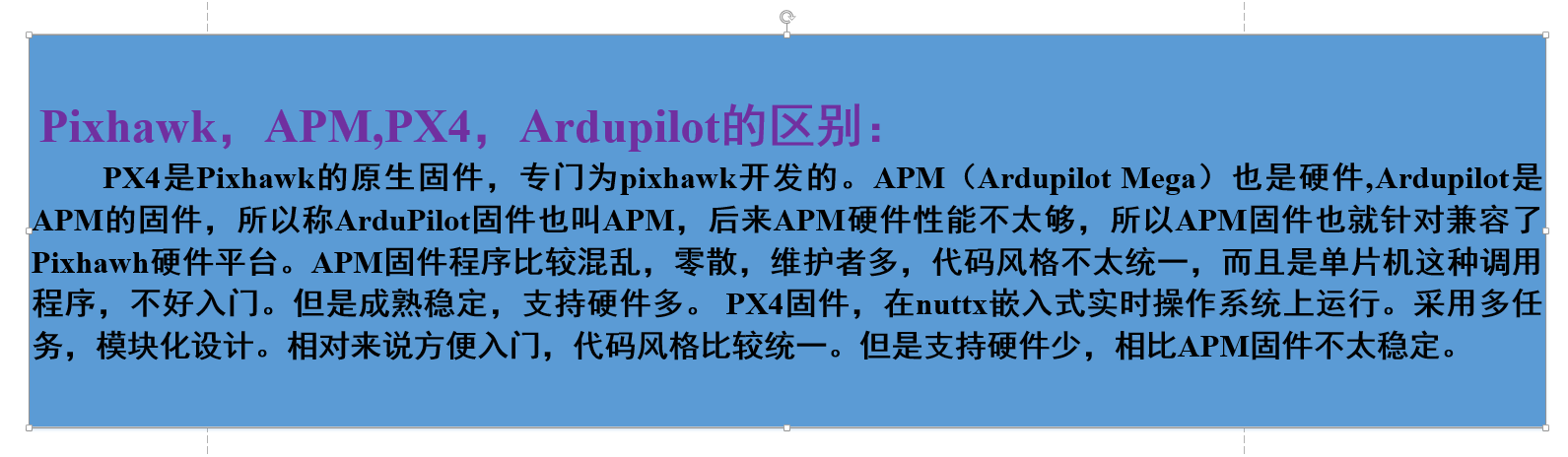 Introduction to PX4 and Ardupilot (Chapter 1: Architecture and