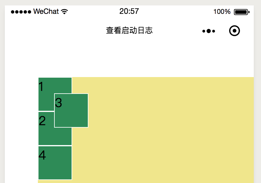 Layout Foundation of Wechat Widget Programs
