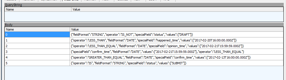 window open() POST submission of json data and background