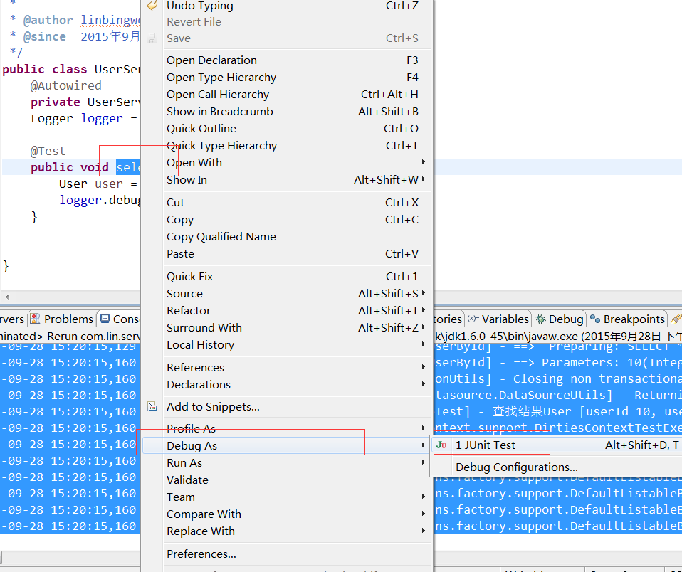 Example of Spring+Mybatis+Spring MVC+Maven+MySql