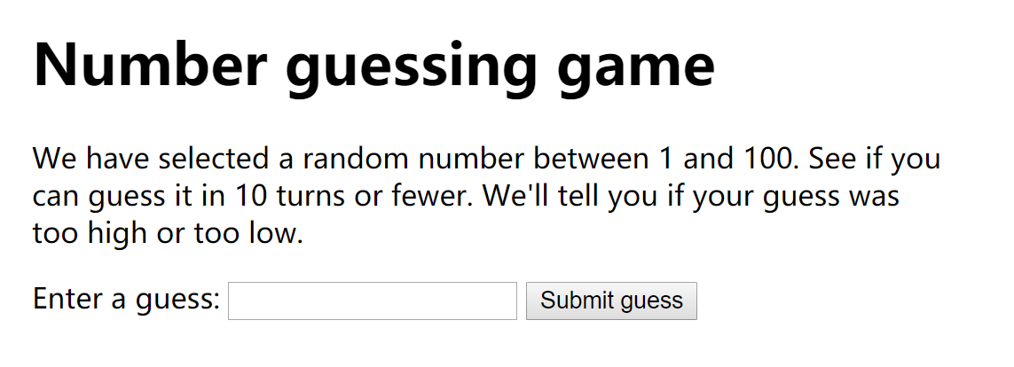 JavaScript Learning Note 1: Start with a guessing game