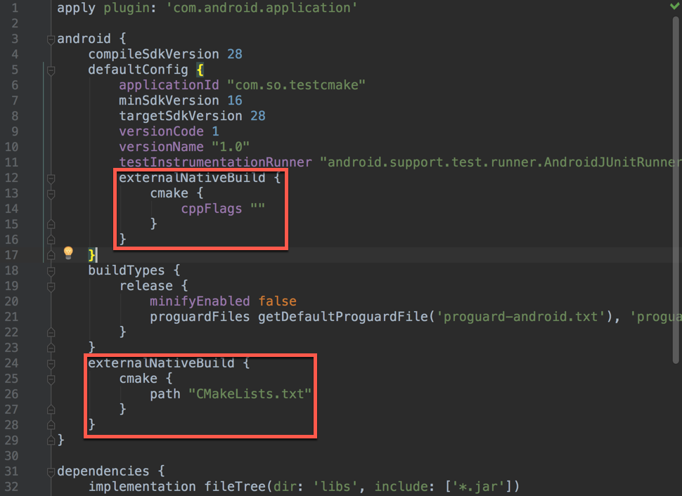 Android Cmake Example