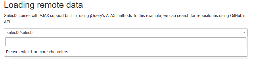 select2, using ajax to efficiently query large data lists