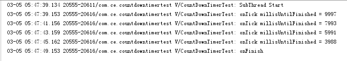 Use and Encapsulation of CountDownTimer for Android