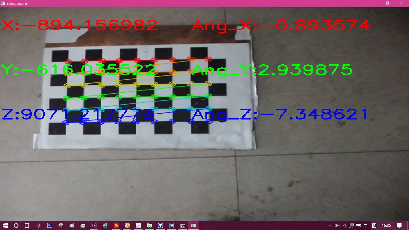 OPENCV from calibrate Camera to solvePnP (II)
