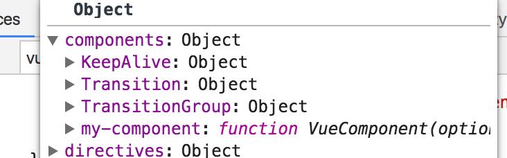 vue source code interpretation-component mechanism
